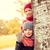 iki · küçük · çocuklar · gizleme · arkasında · ağaç - stok fotoğraf © dolgachov