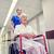 uśmiechnięty · kobiet · pacjenta · szpitala · korytarz · kobieta - zdjęcia stock © dolgachov