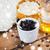 kávé · bozót · csésze · méz · fa · szépségszalon - stock fotó © dolgachov