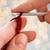 közelkép · nő · köt · gyapjú · közelkép · kezek - stock fotó © dolgachov