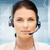 優しい · 女性 · ヘルプライン · 演算子 · ビジネス · コールセンター - ストックフォト © dolgachov