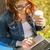 student · laptop · computer · notebooks · business · onderwijs · technologie - stockfoto © dolgachov