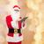 man · kostuum · kerstman · christmas · vakantie - stockfoto © dolgachov