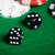 twee · witte · leuk · Rood · gezichten · casino - stockfoto © dolgachov
