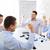 sorridente · pessoas · de · negócios · reunião · escritório · sucesso · tecnologia - foto stock © dolgachov