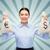 счастливым · успешный · деловой · женщины · деньги - Сток-фото © dolgachov