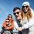 счастливая · семья · Солнцезащитные · очки · улице · лет · праздников - Сток-фото © dolgachov