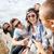csoport · tinédzserek · akasztás · ki · nyár · ünnepek - stock fotó © dolgachov