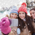 happy teenage girls taking selfie with smartphone stock photo © dolgachov