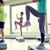groep · mensen · benen · stap · fitness · sport · aerobics - stockfoto © dolgachov