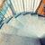 escalera · restaurante · oscuro · negro · pared - foto stock © dolgachov
