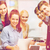 studenten · onderwijs · internet · groep - stockfoto © dolgachov
