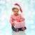 サンタクロース · 帽子 · 愛らしい · ギフトボックス · 笑顔 - ストックフォト © dolgachov