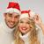 lana · Navidad · ilustración · familia · compras · tienda - foto stock © dolgachov