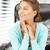 молодые · деловая · женщина · сидят · Председатель · фотография · женщину - Сток-фото © dolgachov