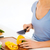 woman cutting vegetables stock photo © dolgachov