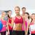 女性 · パーソナルトレーナー · ジム · ダンベル · ボディ · フィットネス - ストックフォト © dolgachov