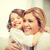 Mutter · Tochter · hellen · Bild · Haus - stock foto © dolgachov