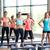 csoport · mosolyog · nők · testmozgás · tornaterem · fitnessz - stock fotó © dolgachov