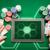 cassino · pôquer · jogador · cartões · comprimido · batatas · fritas - foto stock © dolgachov
