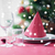 ルーム · クリスマスツリー · 装飾された · 表 · 休日 · お祝い - ストックフォト © dolgachov