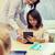 девочку · учитель · школы · образование - Сток-фото © dolgachov