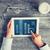 közelkép · nő · kezek · táblagép · iroda · üzlet - stock fotó © dolgachov