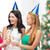 arkadaşlar · şampanya · gözlük · Noel · parti · kutlama - stok fotoğraf © dolgachov