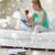 женщину · пылесос · домой · очистки · домашнее · хозяйство - Сток-фото © dolgachov