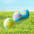 színes · húsvéti · tojások · műfű · húsvét · ünnepek · hagyomány - stock fotó © dolgachov