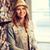 улыбающаяся · женщина · воды · привлекательный · стиль - Сток-фото © dolgachov