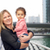 multiracial family with little child in dubai stock photo © dolgachov