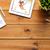 jegyzettömb · egészséges · életmód · fa · asztal · víz · étel · egészség - stock fotó © dolgachov