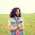pessoas · felizes · retrato · jovem · hispânico · homem · barba - foto stock © dolgachov