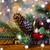 Рождества · свечу · фонарь · дерево - Сток-фото © dolgachov