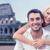 счастливым · путешествия · пару · комбинированный · Рим · Италия - Сток-фото © dolgachov