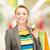 買い物客 · 画像 · 女性 · ショッピングバッグ · 幸せ · ショッピング - ストックフォト © dolgachov