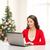 boldog · ázsiai · nő · laptop · számítógép · iroda · üzlet - stock fotó © dolgachov