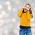 gelukkig · jonge · vrouw · tienermeisje · mensen · stijl - stockfoto © dolgachov