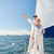 zeilen · boot · jacht · zee · leeftijd - stockfoto © dolgachov