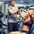 man · gymnasium · machine · sport · fitness - stockfoto © dolgachov