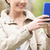close up of woman taking picture with smartphone stock photo © dolgachov