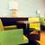 fila · arancione · tavola · sedia · divano - foto d'archivio © dolgachov