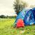 turisztikai · sátor · hátizsák · kint · kempingezés · utazás - stock fotó © dolgachov