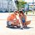 カップル · スマートフォン · 市 · 夏 · 休日 - ストックフォト © dolgachov