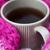 thé · café · hiver · écharpe · neige - photo stock © dolgachov