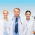 gülen · göz · doktorlar · sağlık · vizyon - stok fotoğraf © dolgachov