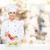smiling female chef spicing vegetable salad stock photo © dolgachov