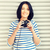 heureux · adolescente · grand · casque · photos · femme - photo stock © dolgachov