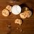 glas · melk · cookies · houten · tafel · koffie · chocolade - stockfoto © dolgachov